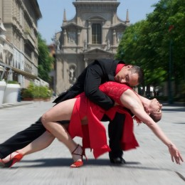 Ariel Romero tango aregntino